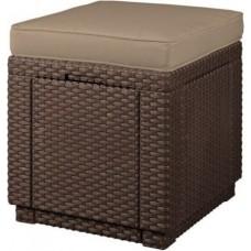 Cube hnedé / sivo-hnedá pod.