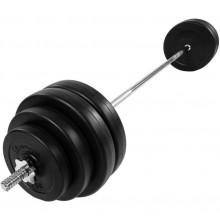 Obojručný činkový set 60,5 kg MOVIT®