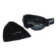 Brother Lyžiarske okuliare s veľkým zorníkom - čierne