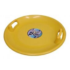 Superstar plastový tanier - žltý
