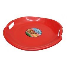 Tornádo tanier sánkarsky - červený