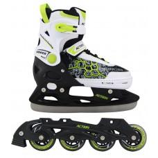 Chlapčenské korčule s vymeniteľným podvozkom - veľ. 37 - 40