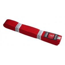 Pásek ke kimonu KATSUDO - červený