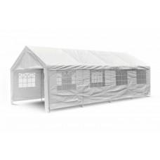 Záhradný párty stan - biely, 4 x 8 m