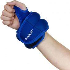 MOVIT neoprénová kondičná záťaž 0,5 kg, modrá