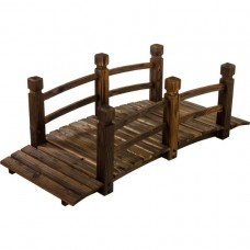 Drevený mostík 150 x 67 x 55 cm