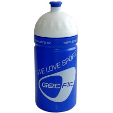 Fľaša na bicykel 0,5 l modrá