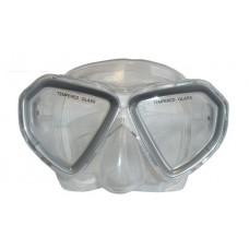 Okuliare potápačské detské BROTHER sivá
