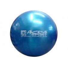 Gymnastická lopta (gymball) 850 mm modrá