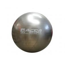 Gymnastická lopta (gymball) 850 mm sivá