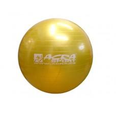 Gymnastická lopta (gymball) 850 mm žltá