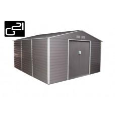 Zahradní domek G21 GAH 1300 - 340 x 383 cm. šedý