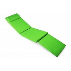 Polstrovanie na ležadlo 188 cm - svetlozelená