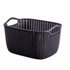 CURVER fialový plastový košík 8 l