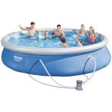 Nafukovací bazén Bestway 457 x 84 cm s filtráciou