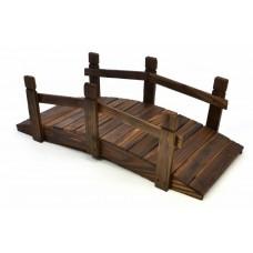 Drevený mostík Garth