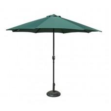 Slnečník  300 cm - zelený