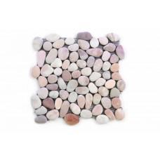 Mozaika Garth riečne okruhliaky - bežová obklady 1 m2