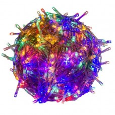Vianočné LED osvetlenie - 40 m, 400 LED, farebné