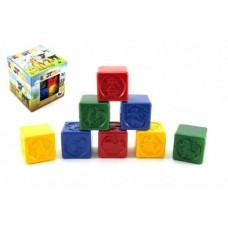Kostky kubus PH plast 8ks v krabičce 12x12x12cm