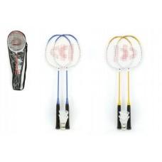 Badminton sada + 3 košíčky Donnay kov 66cm - 3 barvy