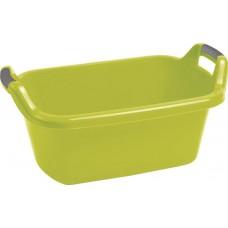 Plastová vanička s úchytkami CURVER 35 l- zelená