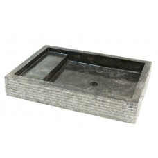 Kamenné umývadlo Kotak Trap Marmo Black