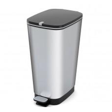Odpadkový kôš CHIC 50 L - strieborný