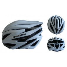 Cyklistická prilba veľkosť L - strieborná