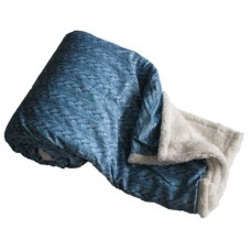 Deka 150 x 200 cm BARÁNOK VRKÔČIK - modrá