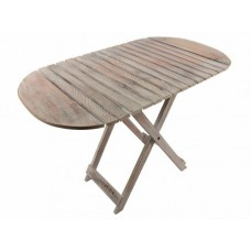 Skladací stôl DIVERO Vintage - 85 cm