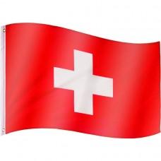 Vlajka Švajčiarsko - 120 cm x 80 cm