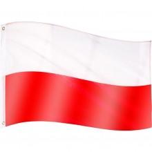 Vlajka Poľsko - 120 cm x 80 cm