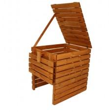Záhradný drevený kompostér - 800l