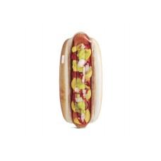 Nafukovacie lehátko Hot dog - 180 x 89 cm