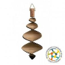 T-wood Špirála veterná - 40 cm