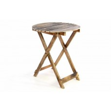 DIVERO – sklopný stôl, opálený