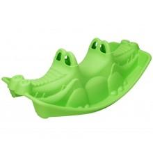 Plastová hojdačka - krokodíl