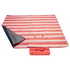 Pikniková deka FLEECE 150 x 135 cm červená