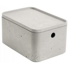 CURVER BETON úložný box s vekom- S