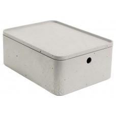 CURVER BETON úložný box s vekom- M