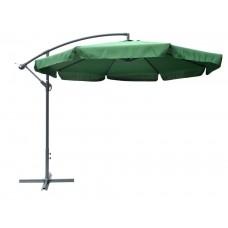 Slnečník EXCLUSIVE - zelený 300 cm
