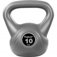 Kettlebell činka sivá - 10 kg