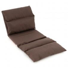 Nastaviteľná sofa - hnedá
