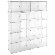 Transparentný regál - zásuvný systém