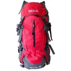 Batoh pre horskú turistiku 60 l, červený