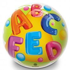 Potlačená lopta s abecedou - 230 mm