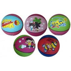 Basketbalová lopta s potlačou