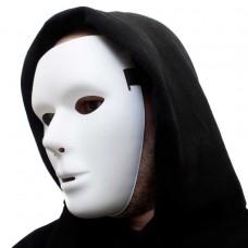 Karnevalová maska FANTOM neutrálna biela