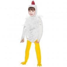 Detský kostým kurčaťa - veľkosť S